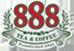 888 teacoffee logo